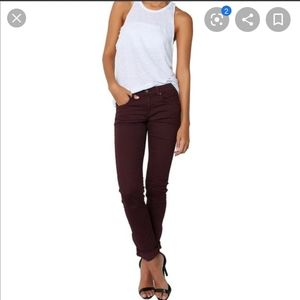 • Rag & Bone • The Dre Boyfriend Jeans Aged Wine